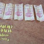 Cuatro que capturan con drogas