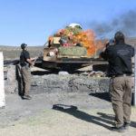 PGR incinera más de 121 kilos de narcóticos en Durango