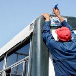 Al mes 1,200 multas a transporte público