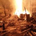 10 Muertos y 19 heridos por un incendio en un pozo petrolífero en Indonesia