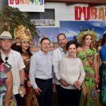 Durango, Invitado Especial de la Feria de San Marcos 2018; el gobernador Aispuro en la inauguración