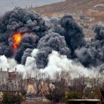 EEUU y aliados perpetraron ataques aéreos y desde buques en ofensiva en Siria