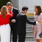 Los Reyes ofrecen a Peña Nieto y su esposa un almuerzo en la Zarzuela