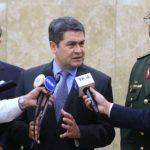 El presidente de Honduras rechaza participar en Independencia de Israel
