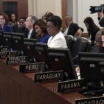 La OEA convoca un consejo extraordinario sobre Venezuela para el lunes