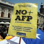 Marchas en Chile contra sistema privado de pensiones, las primeras con Piñera