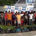 Rescatan en Colombia a 30 inmigrantes ilegales que habían sido abandonados