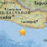 Un sismo de magnitud 6 en el Pacífico sacude a El Salvador