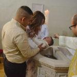 Ángel Santiago Vázquez Valles recibió las aguas benditas