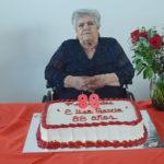 Festeja Elisa García de la Torre su cumpleaños número 88