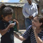 CEDH verifica situación de indígenas afectados por incendio