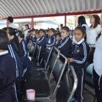 Llevan salud integral a niños de Guadalupe Victoria