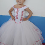 Presentaron al templo a la pequeña Ashley Nahomi Rodríguez Simental