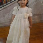 Fue presentada al templo Natalia Mendoza Candía