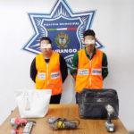 """Cuatro """"cacos"""" detenidos por la DMSP"""