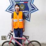 """Robo una bicicleta de casa en la """"Maya"""""""