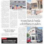 Edición impresa del 4 de mayo del 2018
