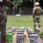 Al menos 13 retenidos con unas 3 toneladas de droga en Guatemala