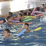 Albercas de unidades deportivas de Gómez Palacio ofrecen cursos de natación y recreación