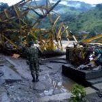 Cerca de 600 personas resultaron afectadas por creciente de río en Colombia