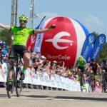 Jon Aberasturi sigue de líder de la Vuelta Aragón con victoria de Malucelli