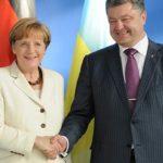 Merkel promete hablar con Poroshenko sobre detención de periodista ruso