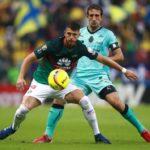 Santos empata 2-2 en casa del América y se clasifica a la final del Clausura