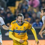El Tigres del francés Gignac recibe mañana al Santos del goleador Tavares