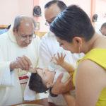 Bautizaron al pequeño Raúl Alfonso Segura Rojas