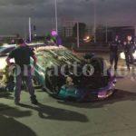 Atropellado y muerto hombre sin identificar sobre Manuel Gómez Morin y Laureano Roncal