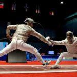 Colombiana Van Erven y venezolano Romero ganan el oro en esgrima