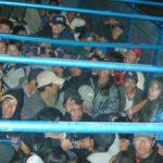 Intervienen un camión con 86 migrantes latinoamericanos en Texas