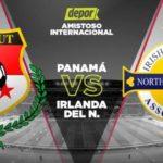 0-0. Panamá empata con Irlanda del Norte en la despedida de su afición