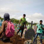 Último adiós a la familia calcinada en un crimen que conmocionó a Nicaragua