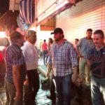 Fuego en dos puestos del Ex Cuartel Juárez, pero estuvo en riesgo todo el mercado