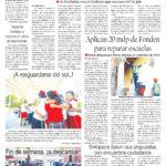 Edición impresa del 3 de junio del 2018