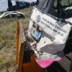 Un muerto y dos lesionados, al parecer todos de Coahuila, en volcadura sobre autopista a Gómez Palacio