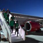Accidentado vuelo de Arabia Saudí a Rostov al incendiarse un motor del avión