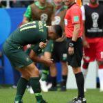 Nabbout podría perderse el último partido ante Perú