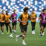 Bélgica viaja a Rostov con los veintitrés futbolistas disponibles