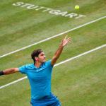 Federer-Kyrgios y Raonic-Pouille, semifinales de Stuttgart