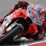 Lorenzo suma su primera mejor clasificación de entrenamientos con Ducati