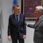Macri apuesta con Vázquez por acuerdos de Mercosur con China, Japón o Canadá