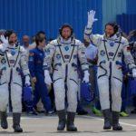 """La tripulación de la misión """"Horizons"""" llega a la EEI"""