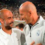 """Guardiola cree que lo que ha hecho Zidane en el Madrid es """"digno de elogio"""""""