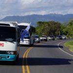 """Presidente hondureño promueve turismo con caravana """"Viajando por Honduras"""""""