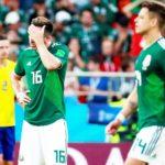 México, en su peor partido, es goleado 3-0 por Suecia y califica; Corea vence 2-0 a Alemania