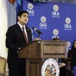 Alvarado y expresidentes de Costa Rica firman declaración sobre retos de país
