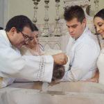 Inicia vida cristiana la pequeña Andrea Elizabeth Valenzuela Acosta
