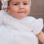 Bautizaron a la linda Ángela Danae Romo Hernández